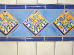 luxury hand painted kitchen backsplash tiles taste