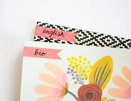 DIY Decorated Notebooks with Labels PBteen Stylehouse