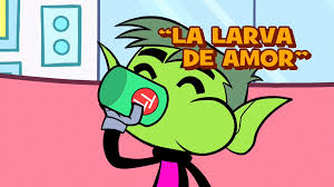 la larva amor teen titans wiki fandom powered wikia