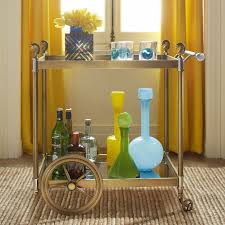 Jonathan Adler Bar Cabinet Cheval Bar Cart Modern Furniture Jonathan Adler