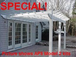 vinyl fence u0026 pergola kits vinyl patio u0026 deck covers pergola
