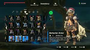 legend of zelda breath of the wild best armor sets locations