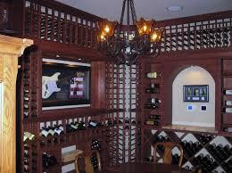 Wine Cellar Chandelier Proper Custom Wine Cellar Lighting In Los Angeles Ca