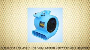 max storm floor u0026 carpet drying fan blower air mover by soleaire