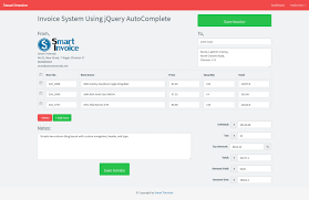 bootstrap templates for invoice invoice system using jquery php mysql and bootstrap
