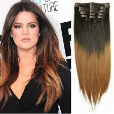 ombre extensions ombre clip in hair extensions online indian remy hair
