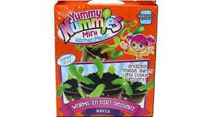 yummy nummies mini kitchen magic worms in dirt dessert maker