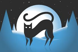 halloween cat png dribbble halloween cat poster png by dj sherman