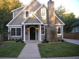 image result for forest green with black trim exterior paint