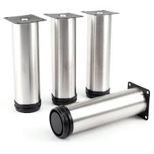 4 pcs cabinet metal legs adjustable stainless steel kitchen feet