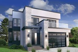 modern home blueprints modern house plans houseplans com