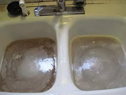Unclogging A Kitchen Sink With Baking Soda And Vinegar Bathroom Sinks Unclog Bathroom Sink Blocked Sink Unblock Shower