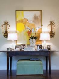 decorate under console table make stylish statement with decor tv