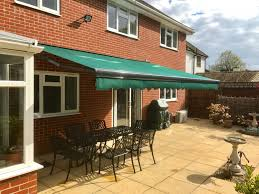 Electric Patio Awning 5 5 Metre Awning Fitted In Fleet Hampshire Awningsouth