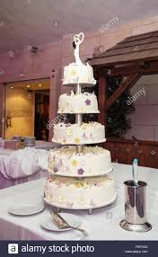 big wedding cakes big wedding cake on the table symbolic food stock photo