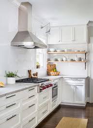 kitchen backsplash height kitchen with height subway tiled backsplash transitional