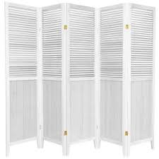 White Room Divider - decorative room dividers u0026 screens folding privacy screens on
