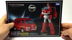 nissan vanette ironhide mp 27 masterpiece ironhide review and transformation youtube