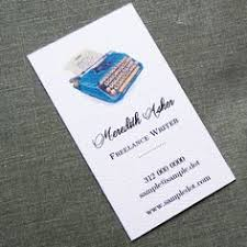 Personalized Business Cards Writer Editor Authors Business Card Editor Business Cards
