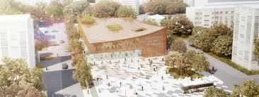 bureau ste genevi e des bois media library sainte geneviève des bois calmm architecture archi