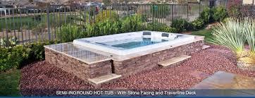 creative spa designs premier inground spa portable tubs