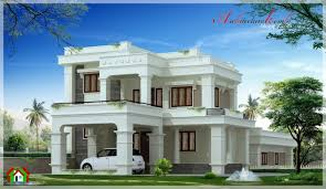 New Contemporary Style House In Kerala Exterior Architecture Square Feet Beautiful Kerala Style House