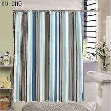 Modern Bathroom Shower Curtains - aliexpress com buy new fabric shower curtain stripe bathtub