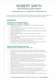 System Support Analyst Resume Business Support Analyst Resume Samples Qwikresume
