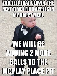 Happy Meal Meme - baby meme funny mcdonalds happy meal famously funny and cute