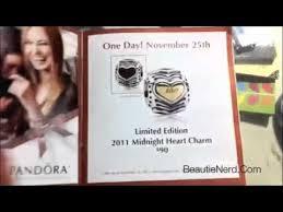 black friday pandora sale pandora 2011 midnight heart charm revealed youtube