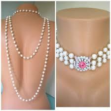 back drop necklace images Shop pearl backdrop necklace on wanelo jpg
