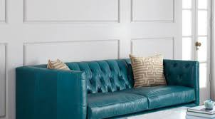 Blue Leather Sectional Sofa Sofa Turquoise Leather Sofa Arresting Ikea Turquoise Leather