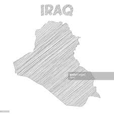 iraq map vector iraq map on white background vector getty images