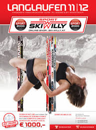langlaufkatalog 2011 2012 by sport ski willy og issuu