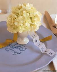 Table Setting Cards - easter table crafts and favors martha stewart