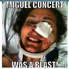 Jaw Drop Meme - miguel facing lawsuit for injuring fan at billboard awards miguel