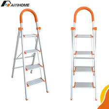 high quality adjustable aluminum ladder multi purpose foldable