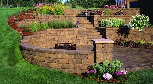 retaining wall blocks u2014 jbeedesigns outdoor landscape bricks