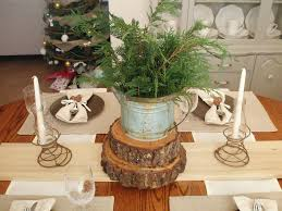 rustic table setting ideas rustic christmas table decoration ideas mariannemitchell me