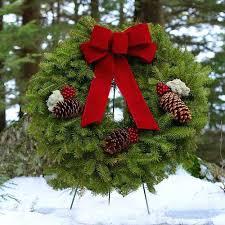 live christmas wreaths live christmas wreaths all cedar fresh wreath in live christmas