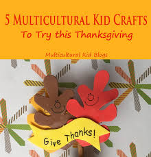 5 multicultural kid crafts to try this thanksgiving