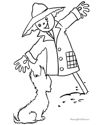 halloween coloring pages dog 016