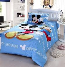 Mickey Mouse Bed Sets Wonderfull Mickey Mouse Comforter Set Decorate Your Room With