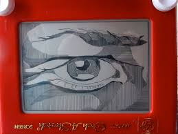 creating art on an etch a sketch here u0026 now