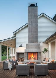 Yard Art Patio And Fireplace San Francisco Freestanding Outdoor Fireplace Patio Farmhouse With