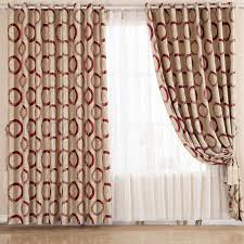 Cotton Drapery Panels Modern Curtain Panels Poly Cotton Blend Jacquard