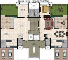 2 story floor plans for multi family homes crtable