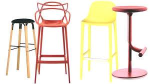 chaise haute cuisine design chaise de bar orange fauteuil cuisine design chaises chaise de bar