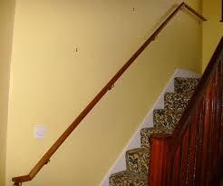 Mahogany Banister Stairs Dublin Hand Rails Grab Rails Dublin