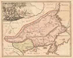 Vintage Chicago Map by Antique Map Of Thrace Weigel 1720 Hjbmaps Com U2013 Hjbmaps Com